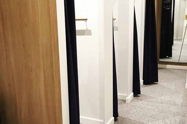 CARPET, FITTING ROOMS